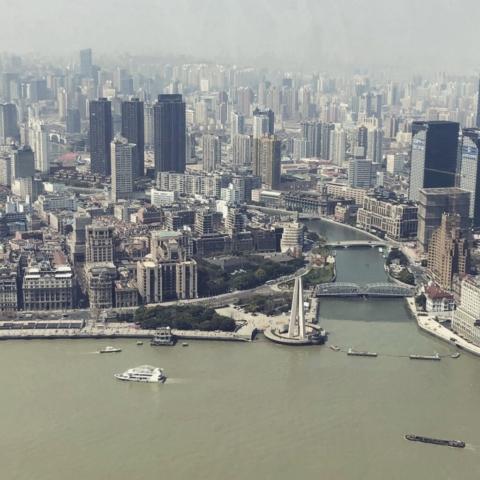 Vista di Shanghai